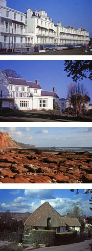 Sidmouth guided town walk: sights