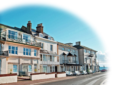 Torbay View: self catering apartment in Sidmouth